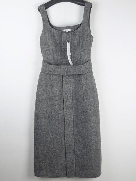 20AW ウールダブルフェイスフライフロントドレス