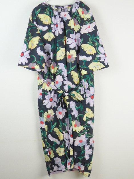 21SS コットンフラワープリントドレス