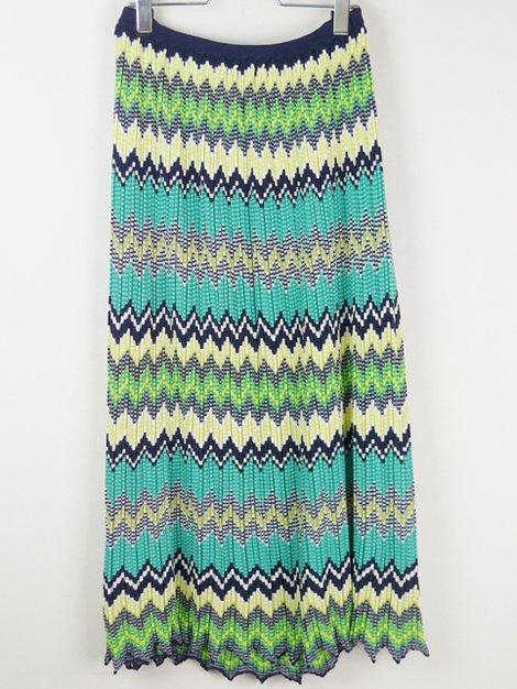 20SS マルチボーダーニットスカート