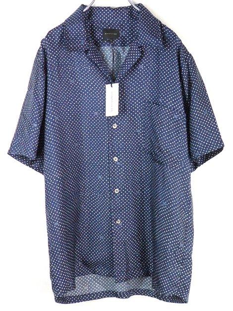 21SS シルクドットシャツ