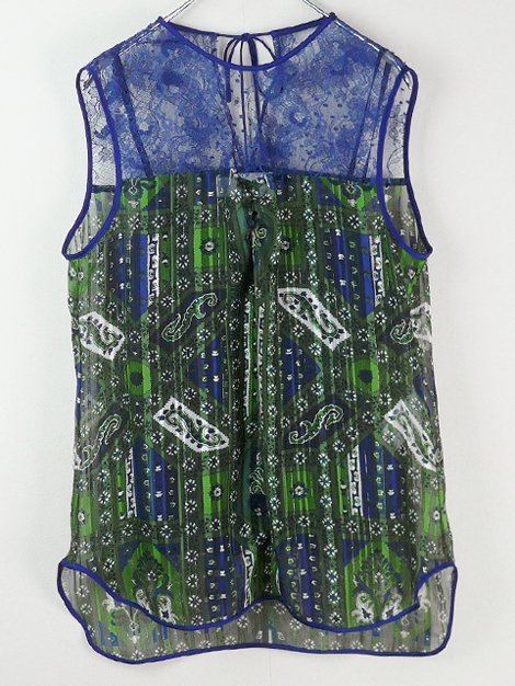 20AW stained glass printed top