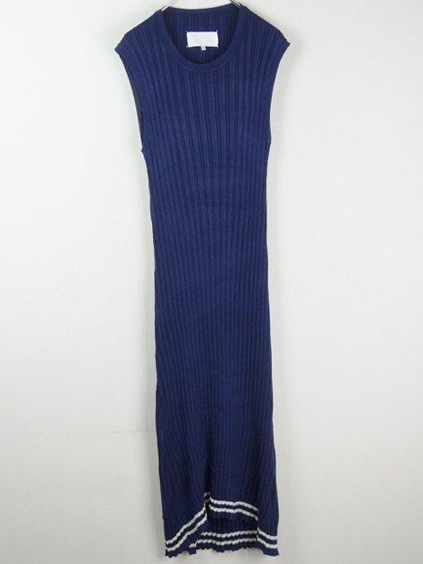 18SS リブニットドレス
