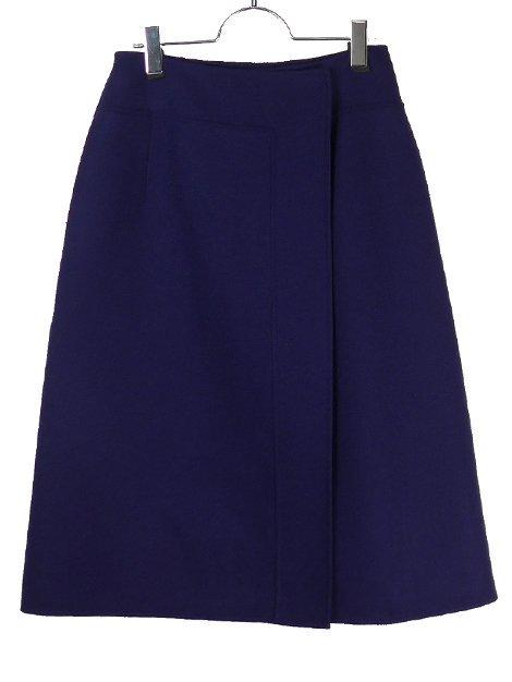 19AW ウールケヌキラップスカート