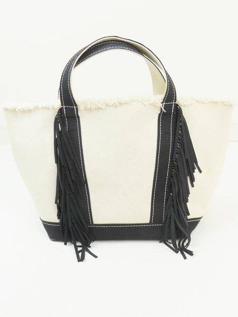 Eco Suede Tote Bag M BLACK