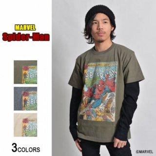 MARVEL「スパイダーマン」Tシャツ(男女兼用)