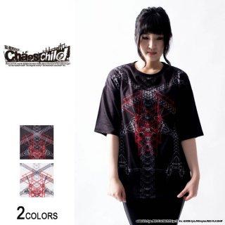 『CHAOS;CHILD』香月華×仲谷明香「ディソード」ビッグTシャツ 香月華 model