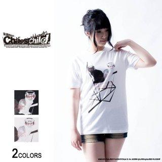 『CHAOS;CHILD』香月華×仲谷明香「ネコ華」Tシャツ