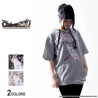 『CHAOS;CHILD』香月華×仲谷明香「ネコ華」半袖パーカー