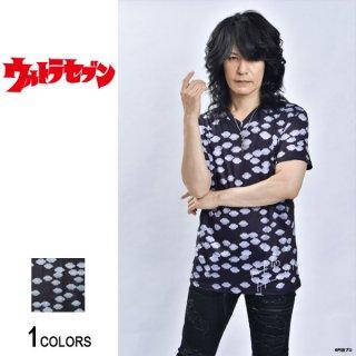 『ウルトラセブン』ルーク篁プロデュース「円盤が来た」VネックTシャツ