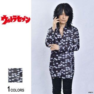 『ウルトラセブン』ルーク篁プロデュース「円盤が来た」ロングシャツ