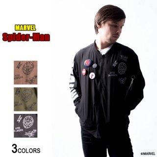 MARVEL「スパイダーマン」MA-1(男女兼用)