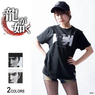 『龍が如く』「桐生一馬」Tシャツ(男女兼用)