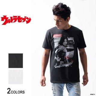 『ウルトラセブン』「アンヌ隊員」ガールズ・フォト・Tシャツ(男女兼用)