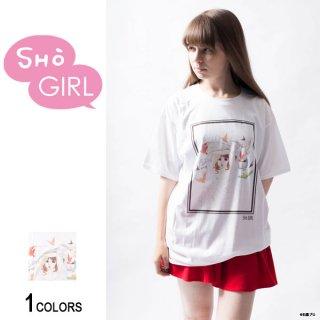 「SHO GIRL」グラフィックTシャツ Bird(男女兼用)