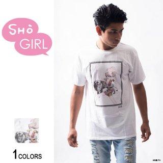 「SHO GIRL」グラフィックTシャツ Lion(男女兼用)