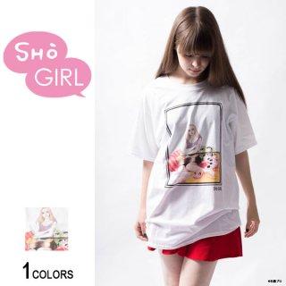「SHO GIRL」グラフィックTシャツ Guitar(男女兼用)