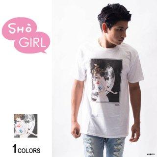 「SHO GIRL」グラフィックTシャツ Moon(男女兼用)