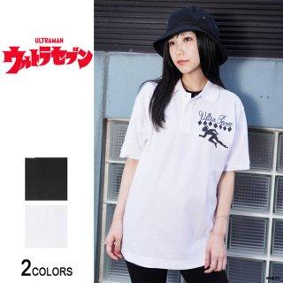 『ウルトラセブン』「ポインター」ボウリングシャツ風ポロシャツ(男女兼用)