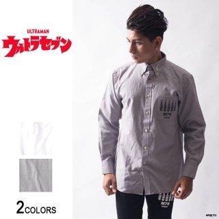 『ウルトラセブン』「カプセル」ボタンダウンシャツ(男女兼用)
