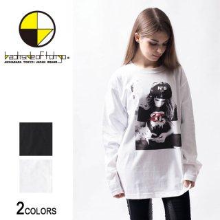 グラフィックロングTシャツ ロゴガール02(男女兼用)