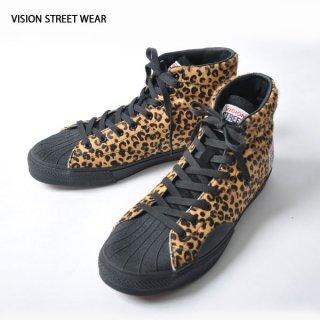 VISION STREET WEAR(ヴィジョン ストリート ウェア)レオパードスニーカー HIGHカット
