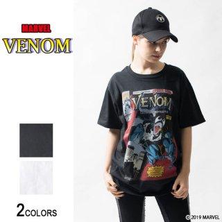 MARVEL『ヴェノム』コミック・フロントカバー Tシャツ(男女兼用)