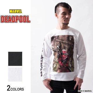 MARVEL『デッドプール』グラフィック ロングTシャツ(男女兼用)