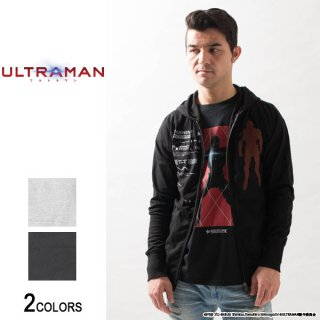 『ULTRAMAN』 ウルトラマンスーツ セブンスーツ マーキングジップパーカー(男女兼用)