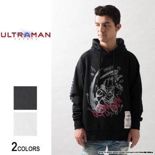 『ULTRAMAN』 ウルトラマン 落書き風イラストサイドジップパーカー(男女兼用)