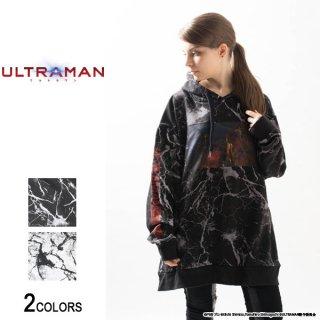 『ULTRAMAN』 エースキラー サイドジップ・クラック・パーカー(男女兼用)