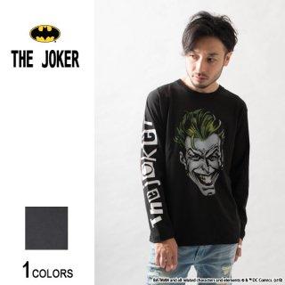 『THE JOKER』ジョーカー FACE ロングTシャツ(男女兼用)