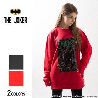 『THE JOKER』ジョーカー バットマン落書きデザイン トレーナー(男女兼用)