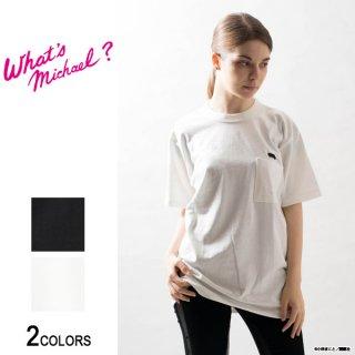 『What's Michael?』マイケル ポケット Tシャツ(男女兼用)