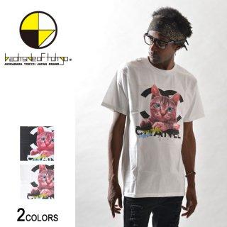 PunkPink ロゴキャットTシャツ(男女兼用)