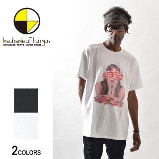 マーブルガールシートプリントビッグTシャツ(男女兼用)