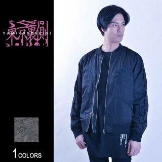 『東京裏側』サイドZIP切り替え刺繍スカジャン Goldfish Ver.(男女兼用)
