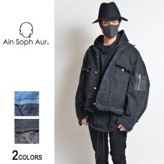 【AinSophAur】MA-1 ドッキング Gジャン(男女兼用)