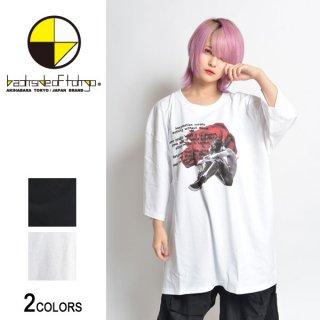Rose Boy Star ビッグTシャツ(男女兼用)