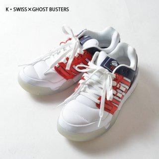 K・SWISS×GHOST BUSTERS STAY PUFT(マシュマロマン)スニーカー