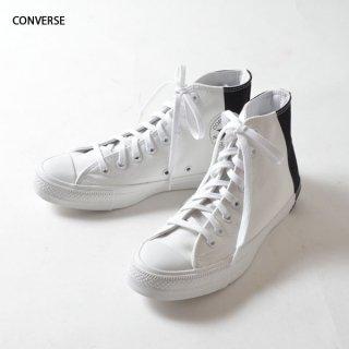 CONVERSE(コンバース)オールスター100 モノパネル ハイ スニーカー(ホワイト×ブラック)