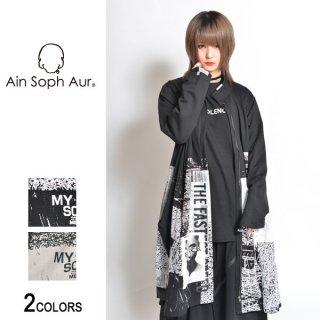 【AinSophAur】スタンドカラーZIPコート(男女兼用)
