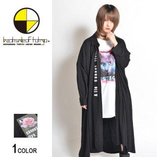 Roseシートロングシャツ(男女兼用)