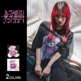 【東京裏側】SICKNESS BEAR ビッグTシャツ(男女兼用)