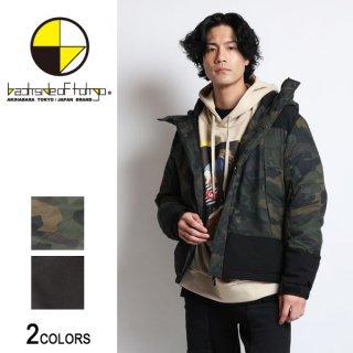 中綿切り替えフードジャケット(男女兼用)