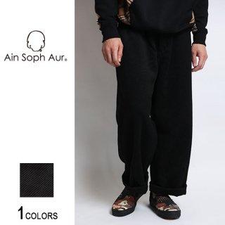 【AinSophAur】カルゼ3Dワイドパンツ(男女兼用)