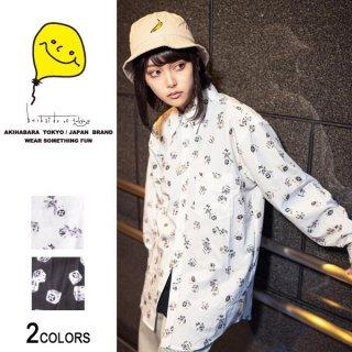 【backside of tokyo】ダイスシャツ(男女兼用)