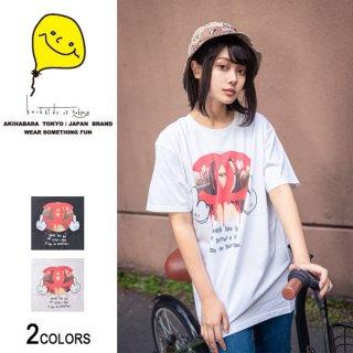CH×ML ハンドPaintingフォトTシャツ(男女兼用)