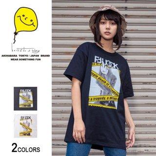 FU Danger ガールフォトTシャツ(男女兼用)