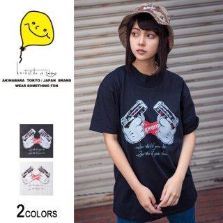 SU×ハンドモノグラムGUN Tシャツ(男女兼用)