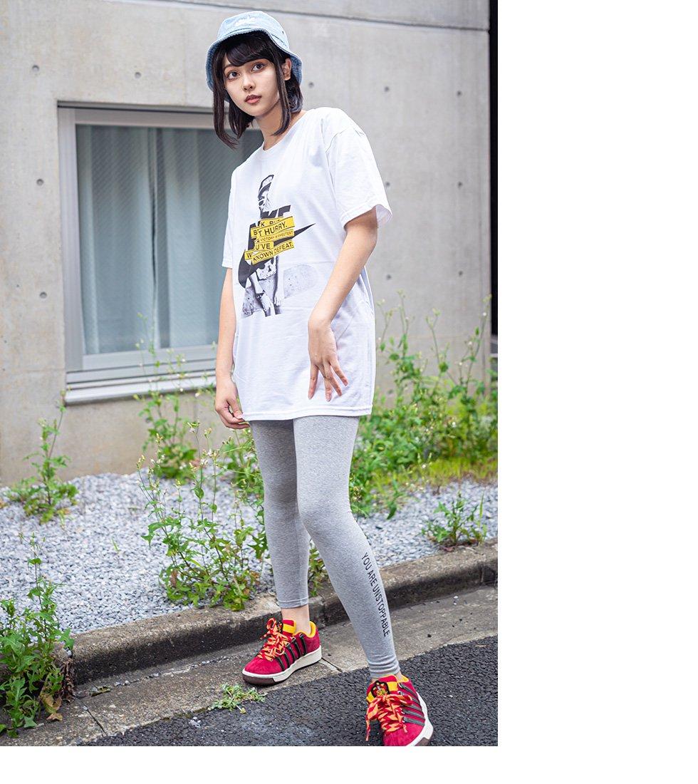 NK×スケーターガールフォトTシャツ(男女兼用)